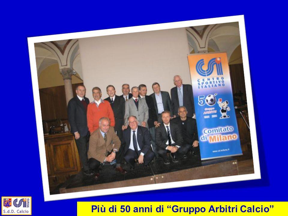 Più di 50 anni di Gruppo Arbitri Calcio
