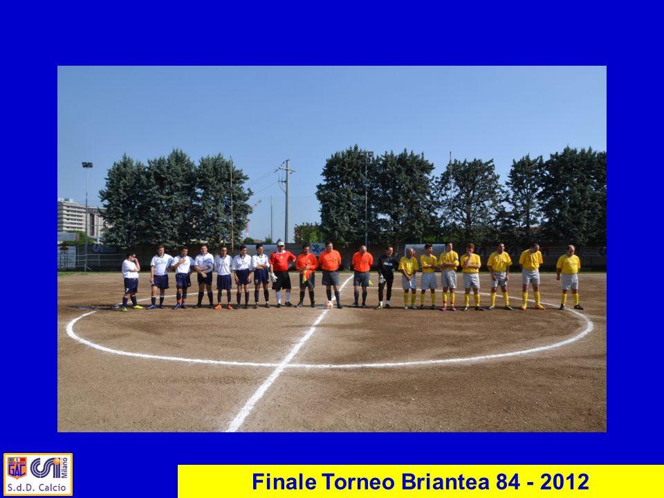 Finale Torneo Briantea 84 - 2012