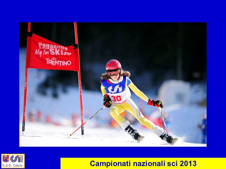 Campionati nazionali sci 2013
