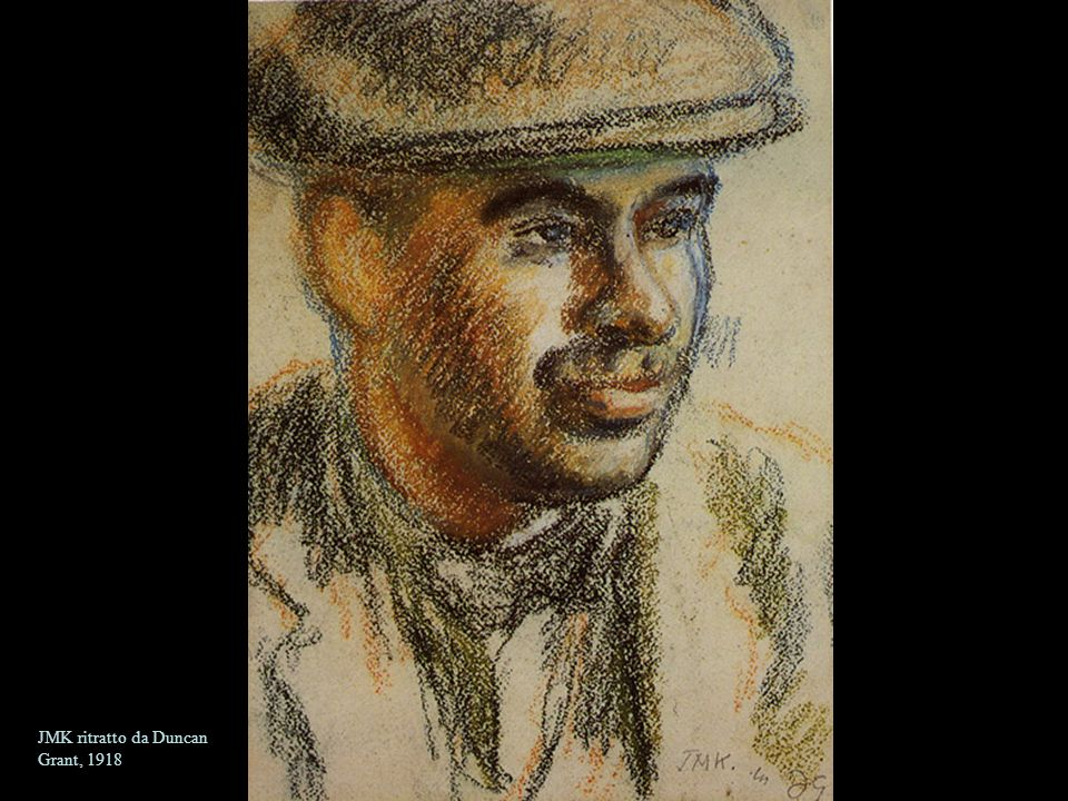 JMK ritratto da Duncan Grant, 1918