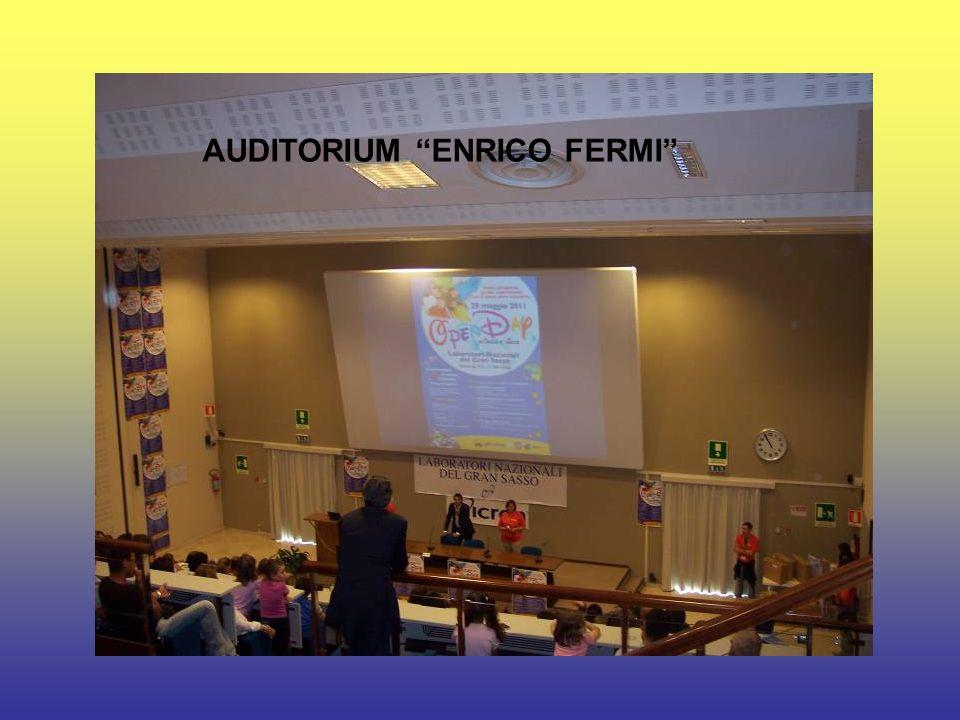AUDITORIUM ENRICO FERMI