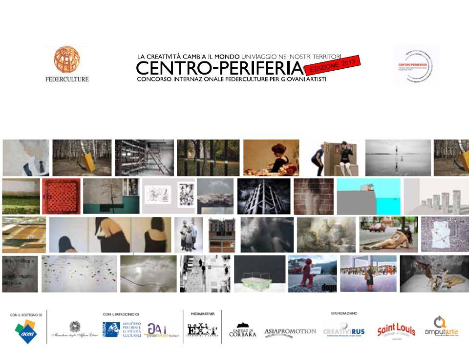 Centro/Periferia Centro Periferia è un concorso internazionale dedicato ai giovani artisti promosso da Federculture per far emergere nuovi talenti coinvolgendo la propria rete di Enti Locali e Istituzioni Culturali.