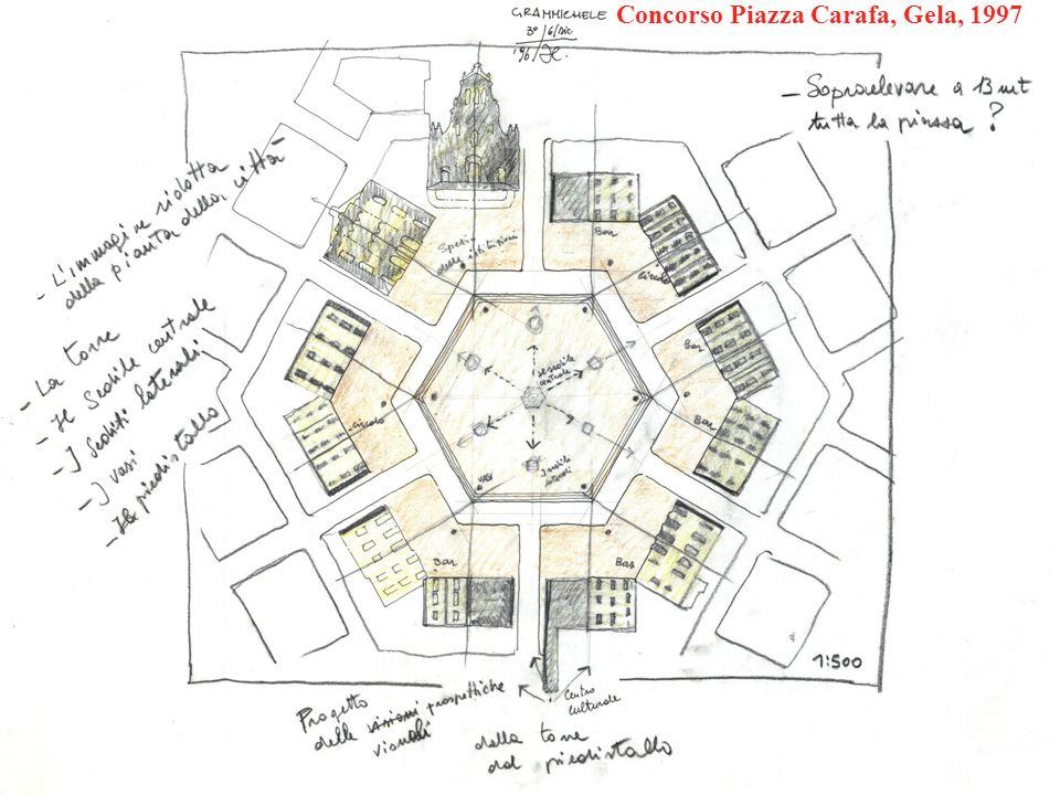 Concorso Piazza Carafa, Gela, 1997