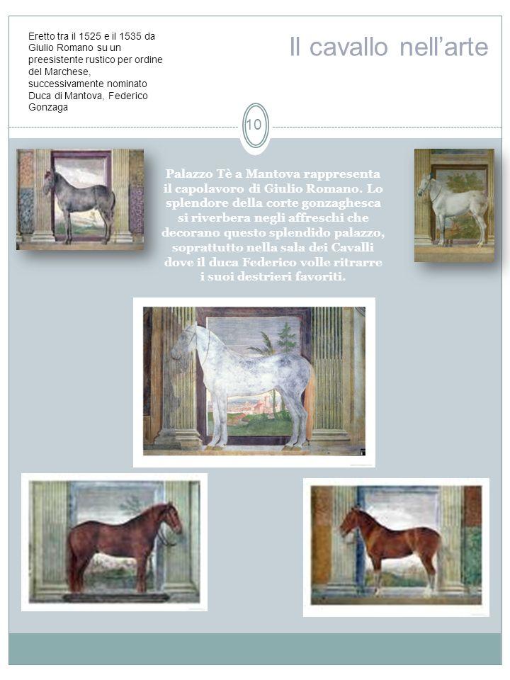 Palazzo Tè a Mantova rappresenta il capolavoro di Giulio Romano. Lo splendore della corte gonzaghesca si riverbera negli affreschi che decorano questo