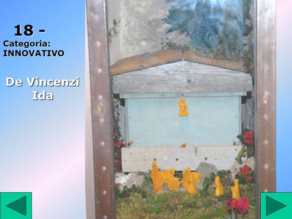 1 7 17- Categoria: TRADIZIONALE Iasiello Angelina Lucia 2° Premio