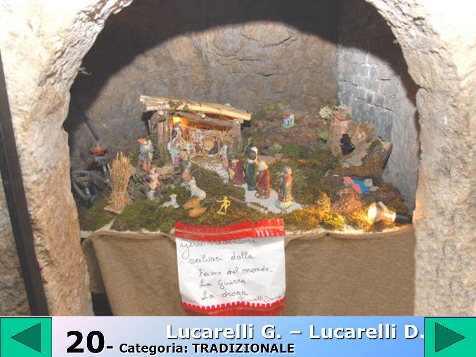 1 9 19 – Categoria: RAGAZZI Antenucci Ida
