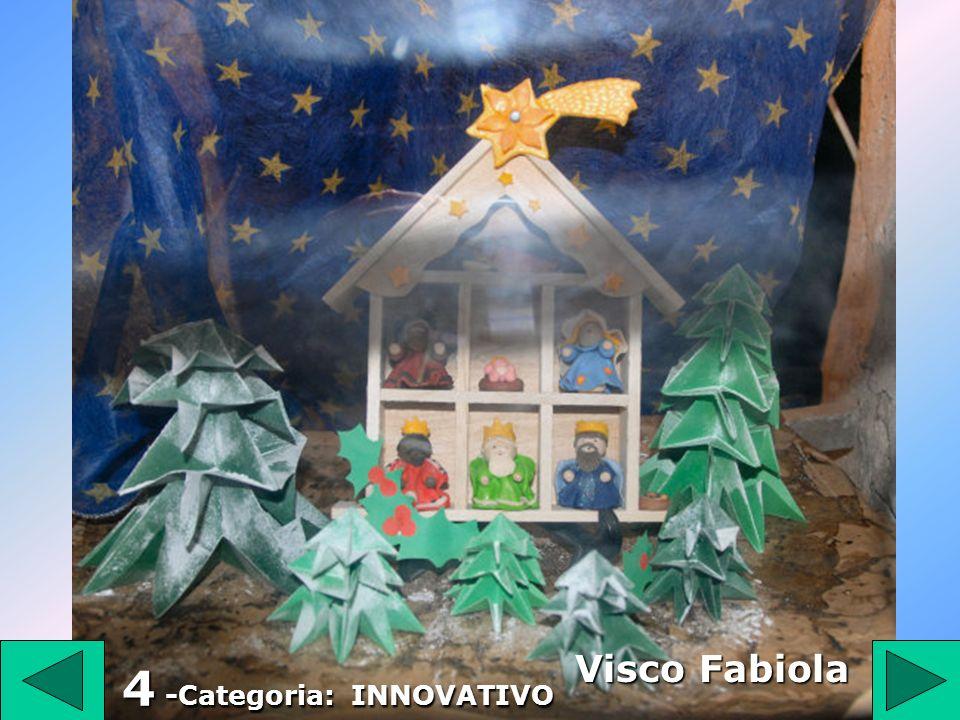 57 57 Categoria: INNOVATIVO De Lisio 2° Premio