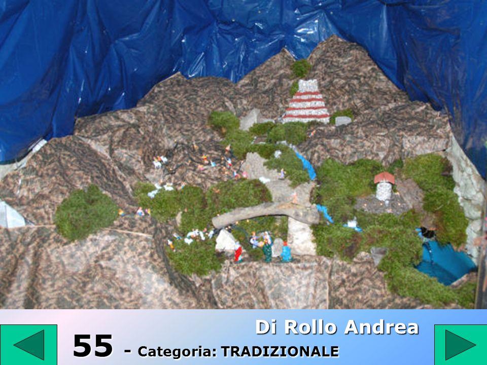 54 54 Categoria: TRADIZIONALE Appugliese Vincenzo