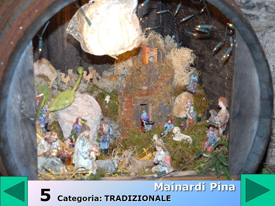 5 5 5 Categoria: TRADIZIONALE Mainardi Pina
