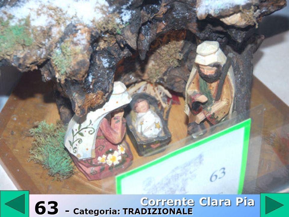 62 62 - Categoria: TRADIZIONALE Tramontano Lina