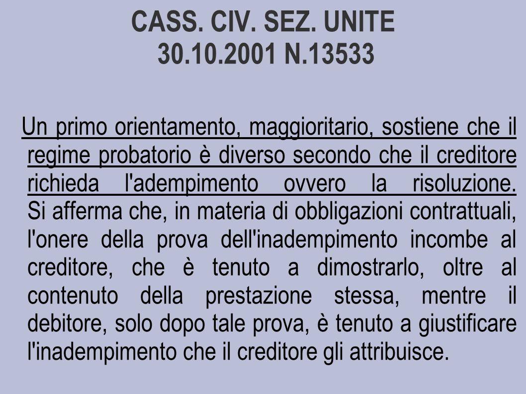 CASS.CIV. SEZ.