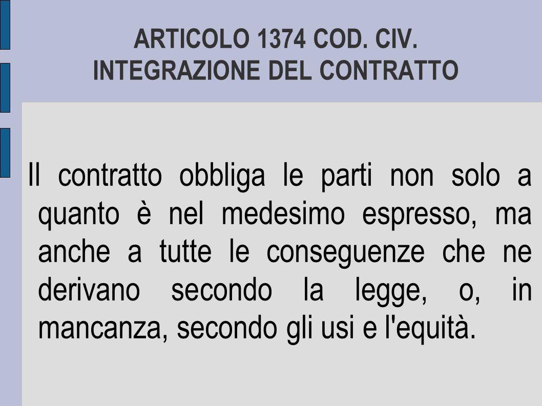 ARTICOLO 1218 COD.CIV.