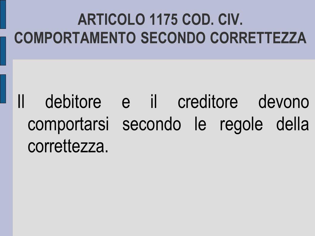 ARTICOLO 1375 COD.CIV.