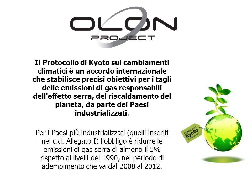 Il Protocollo di Kyoto sui cambiamenti climatici è un accordo internazionale che stabilisce precisi obiettivi per i tagli delle emissioni di gas respo