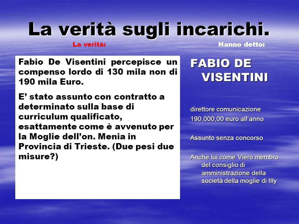 ILLY HA CORAGGIO 35.000.000,00 di euro per avviare lapplicazione della legge sul Friulano.