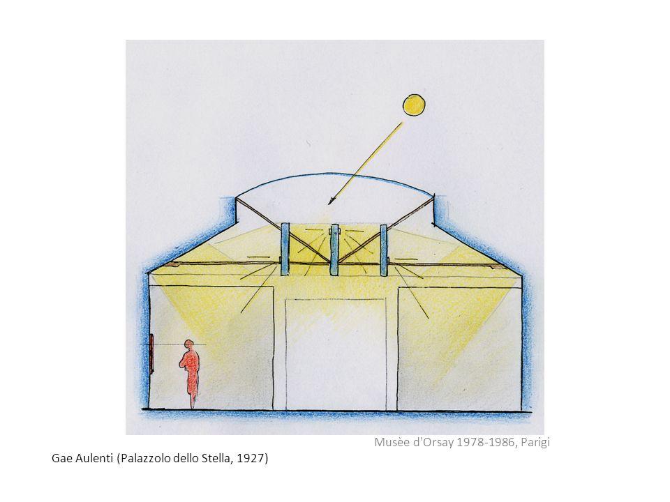 Gae Aulenti (Palazzolo dello Stella, 1927) Musèe d'Orsay 1978-1986, Parigi