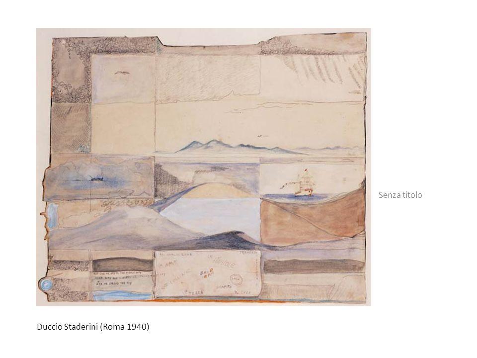 Duccio Staderini (Roma 1940) Senza titolo