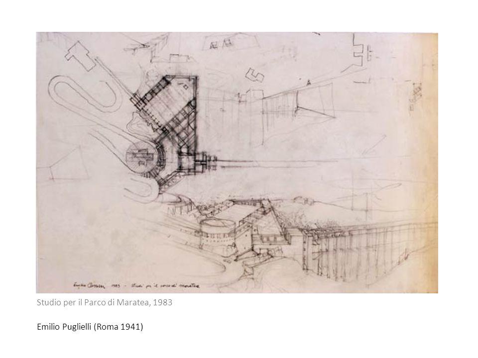 Emilio Puglielli (Roma 1941) Studio per il Parco di Maratea, 1983