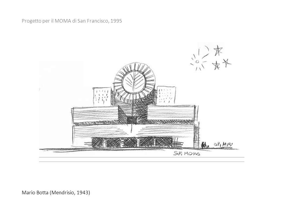 Mario Botta (Mendrisio, 1943) Progetto per il MOMA di San Francisco, 1995