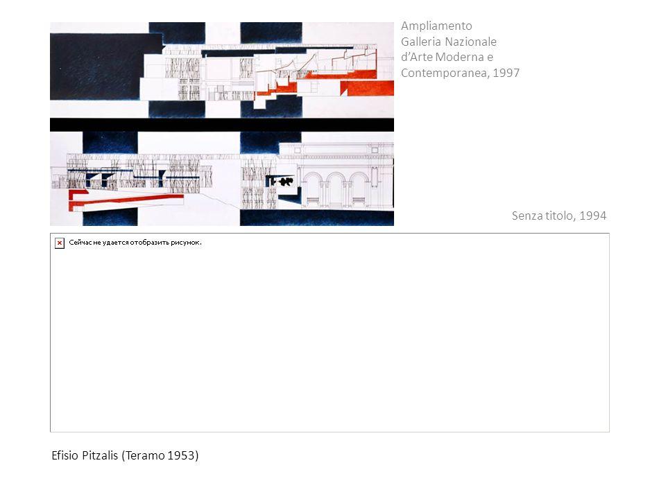 Efisio Pitzalis (Teramo 1953) Ampliamento Galleria Nazionale dArte Moderna e Contemporanea, 1997 Senza titolo, 1994