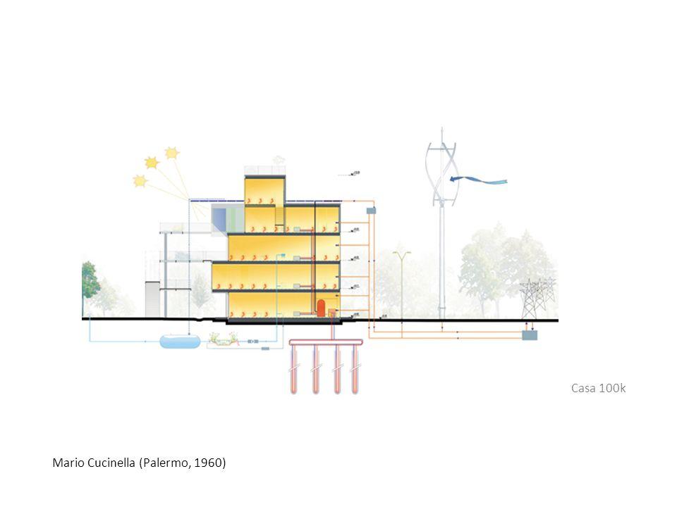 Mario Cucinella (Palermo, 1960) Casa 100k