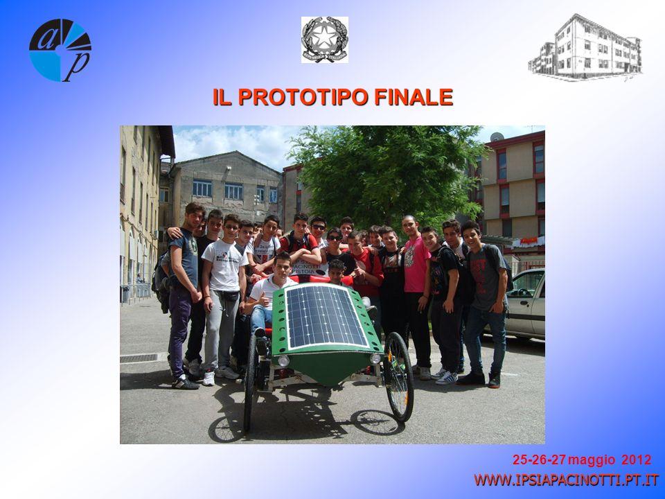 25-26-27 maggio 2012 WWW.IPSIAPACINOTTI.PT.IT