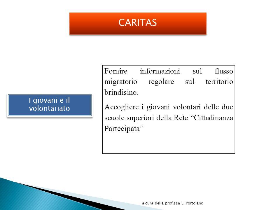 Fornire informazioni sul flusso migratorio regolare sul territorio brindisino.