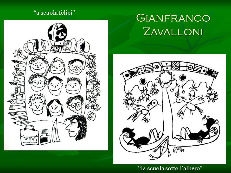 Gianfranco Zavalloni a scuola felici la scuola sotto lalbero