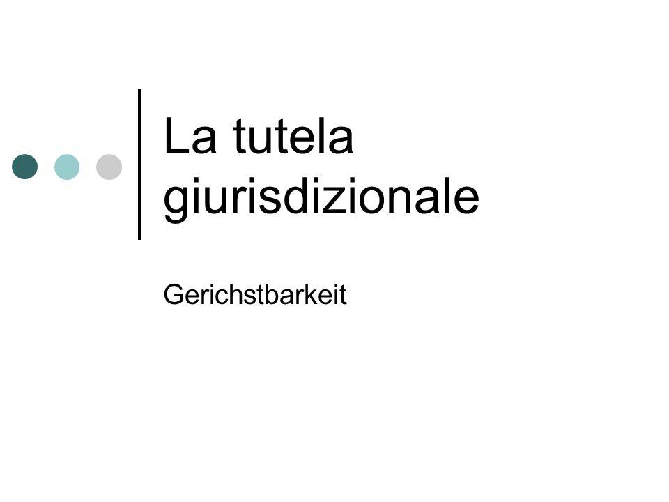 2 I tipi di giurisdizione Gli organi della giurisdizione La sentenza Le professioni legali Gerichstbarkeittyp Organe Verurteilung Rechtliche Berufe