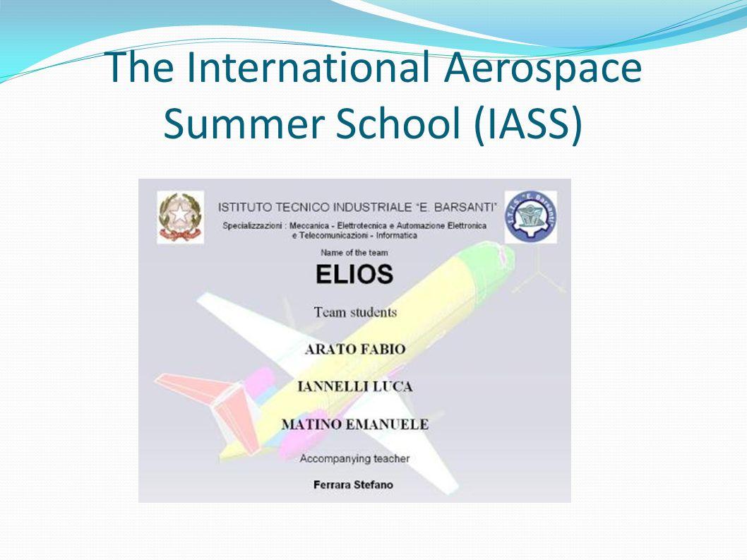 The International Aerospace Summer School (IASS)