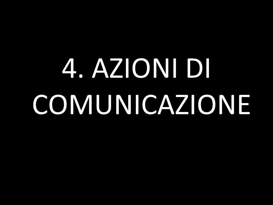 4. AZIONI DI COMUNICAZIONE