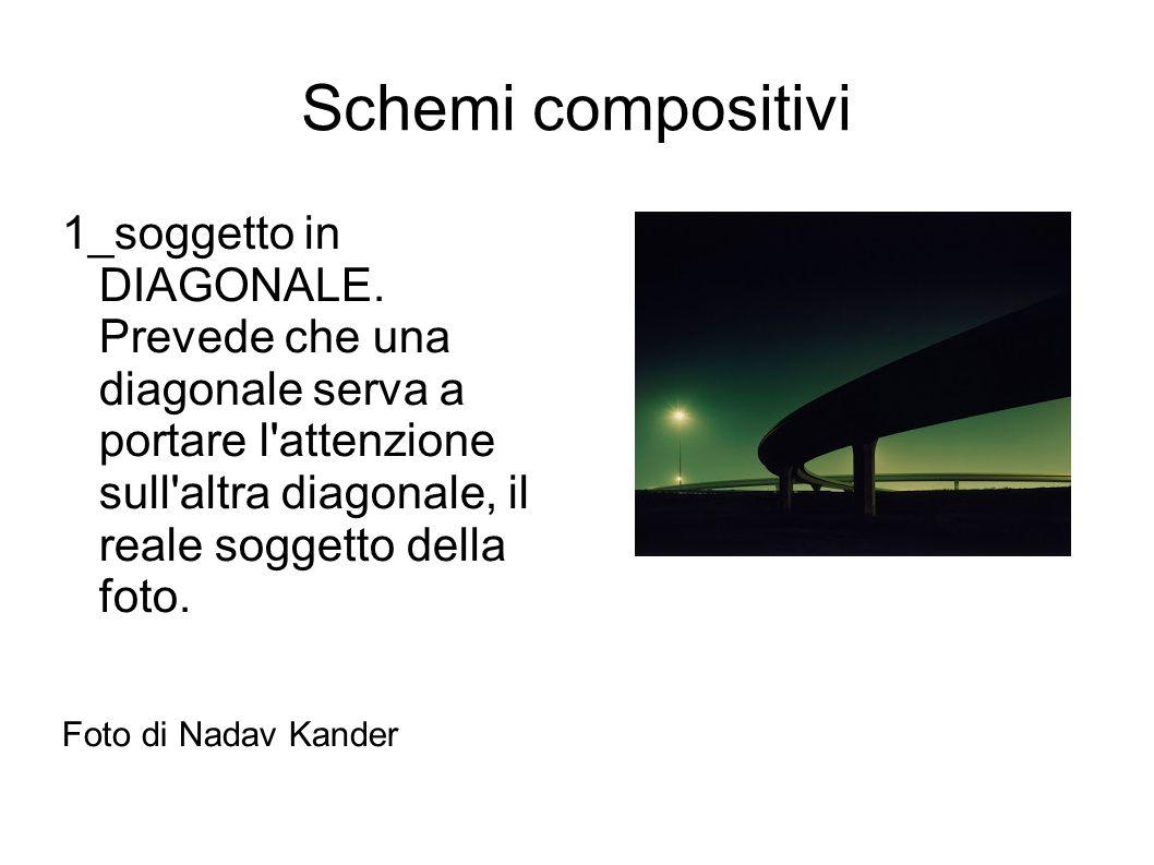 Schemi compositivi 1_soggetto in DIAGONALE. Prevede che una diagonale serva a portare l'attenzione sull'altra diagonale, il reale soggetto della foto.