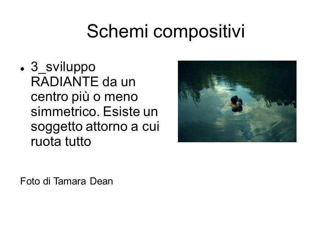 Schemi compositivi 3_sviluppo RADIANTE da un centro più o meno simmetrico. Esiste un soggetto attorno a cui ruota tutto Foto di Tamara Dean