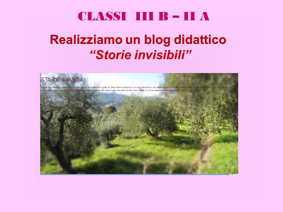 CLASSI III B – II A