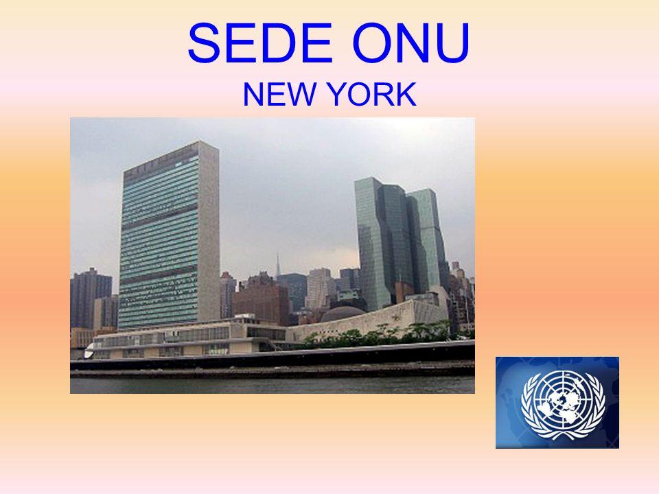 Organizzazione delle Nazioni Unite L'ONU è la più estesa organizzazione internazionale, che ricopre la quasi totalità degli Stati del pianeta. Il 3 lu