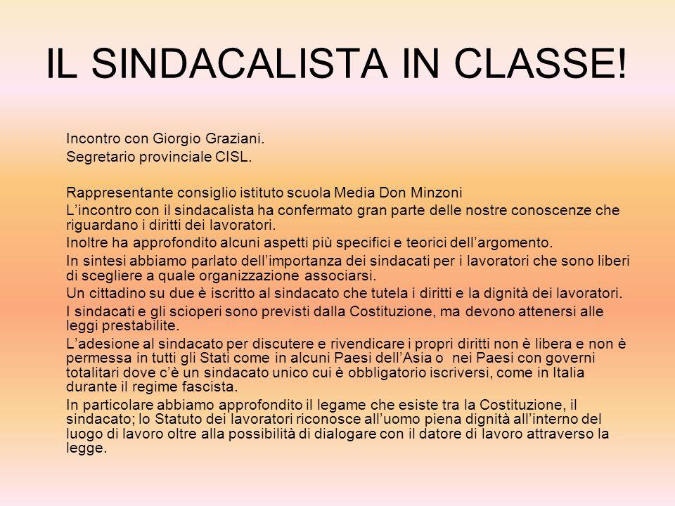 IL GIUDICE IN CLASSE! Incontro con Danila Indirli 4 Aprile 2007 Durante lincontro con la giudice Danila Indirli abbiamo affrontato diversi argomenti r