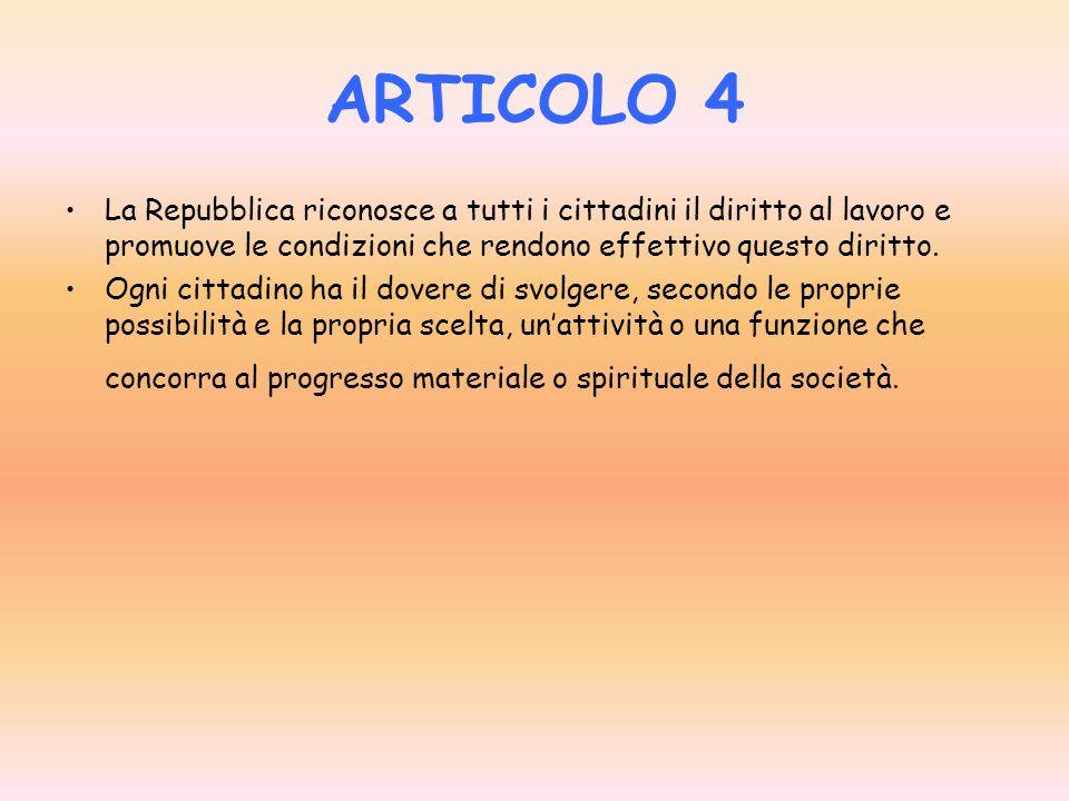 ARTICOLO 3 Tutti i cittadini hanno pari dignità sociale e sono eguali davanti alla legge, senza distinzione di sesso, di razza, di lingua, di religion