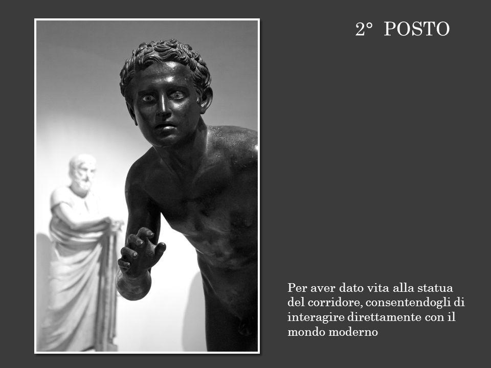 Per aver dato vita alla statua del corridore, consentendogli di interagire direttamente con il mondo moderno 2° POSTO
