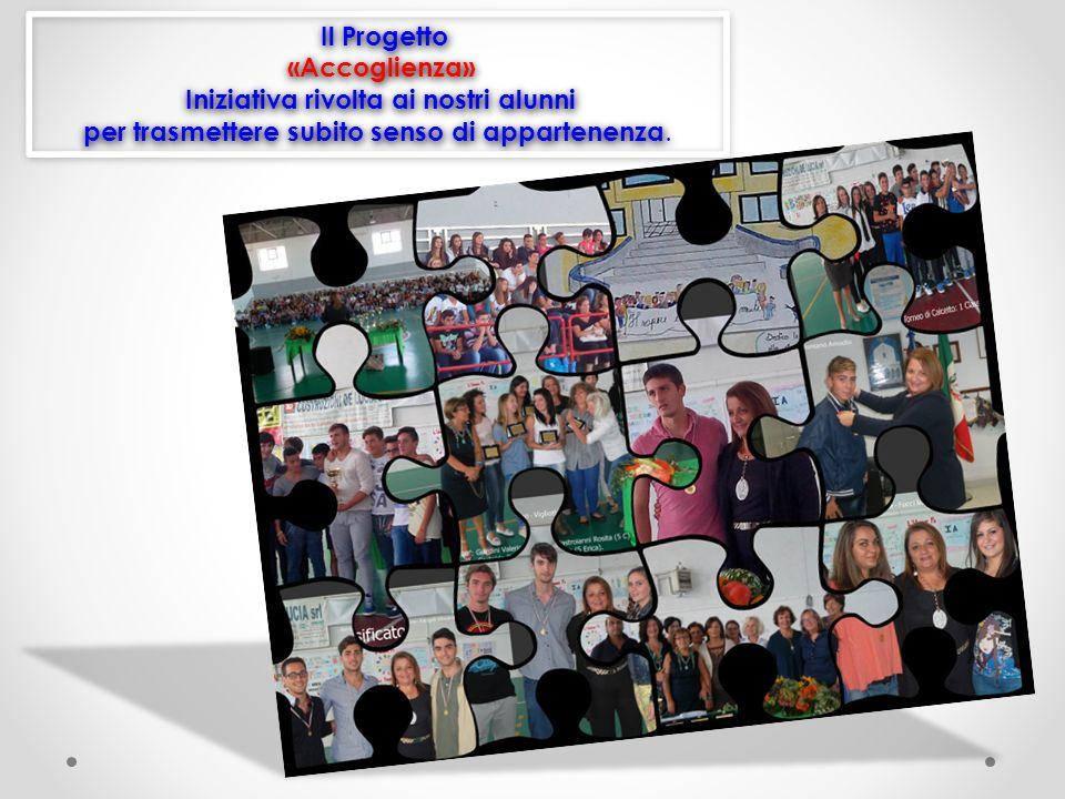 Il Progetto «Accoglienza» Iniziativa rivolta ai nostri alunni per trasmettere subito senso di appartenenza.