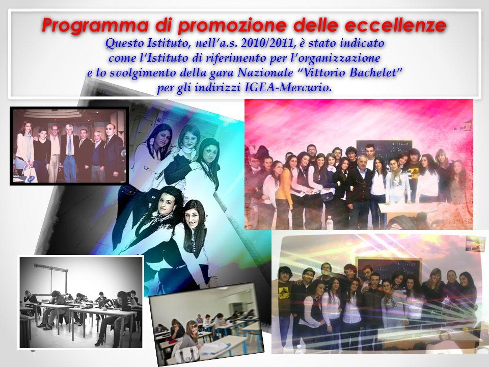 Programma di promozione delle eccellenze Questo Istituto, nella.s.