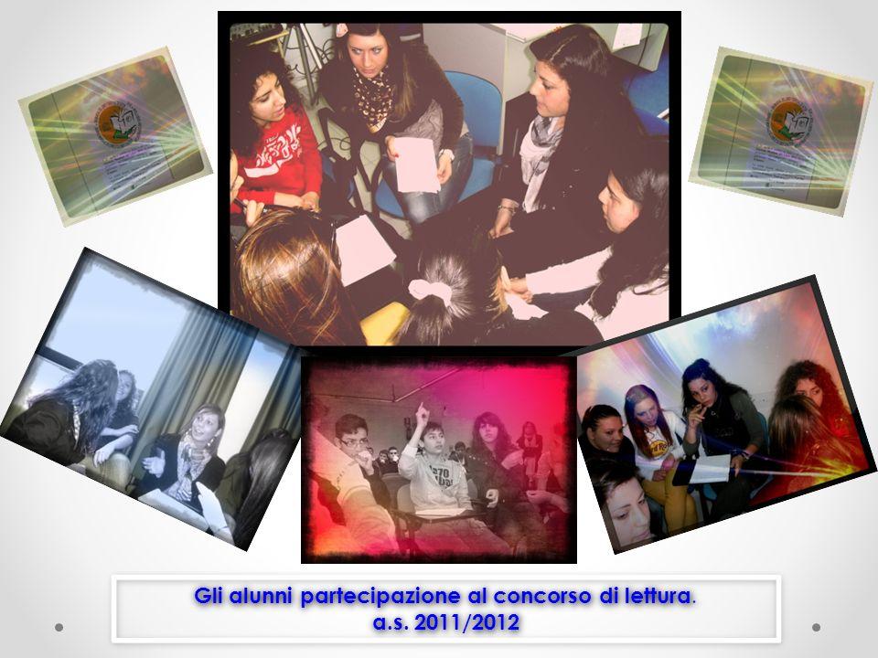 Gli alunni partecipazione al concorso di lettura.a.s.