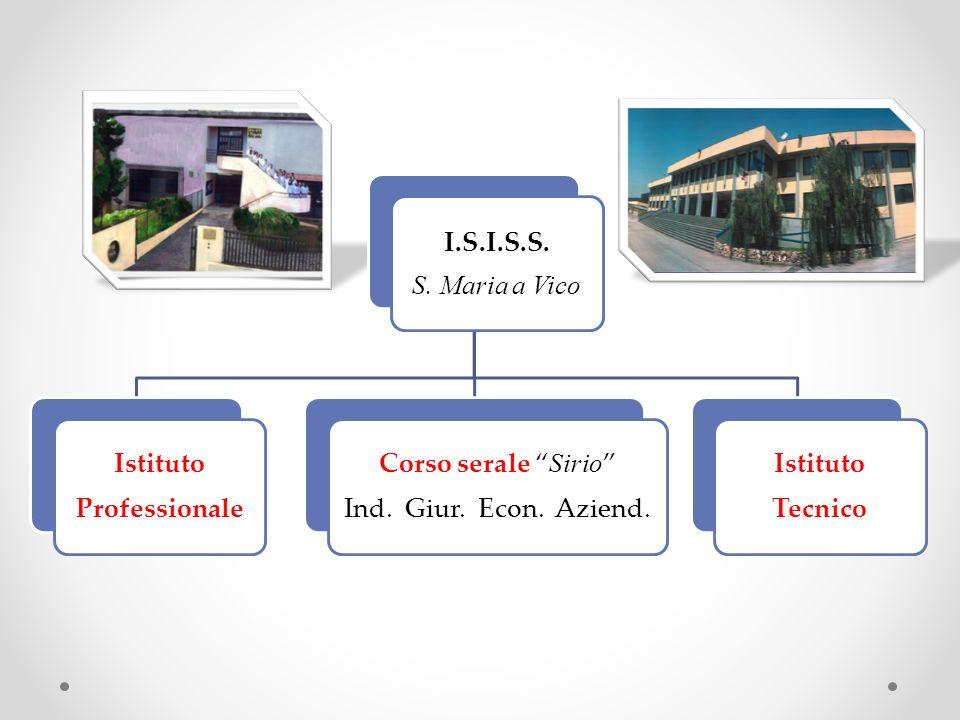 I.S.I.S.S.S. Maria a Vico Istituto Professionale Corso serale Sirio Ind.
