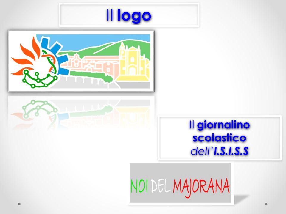 Il logo Il giornalino scolastico dell I.S.I.S.S Il giornalino scolastico dell I.S.I.S.S