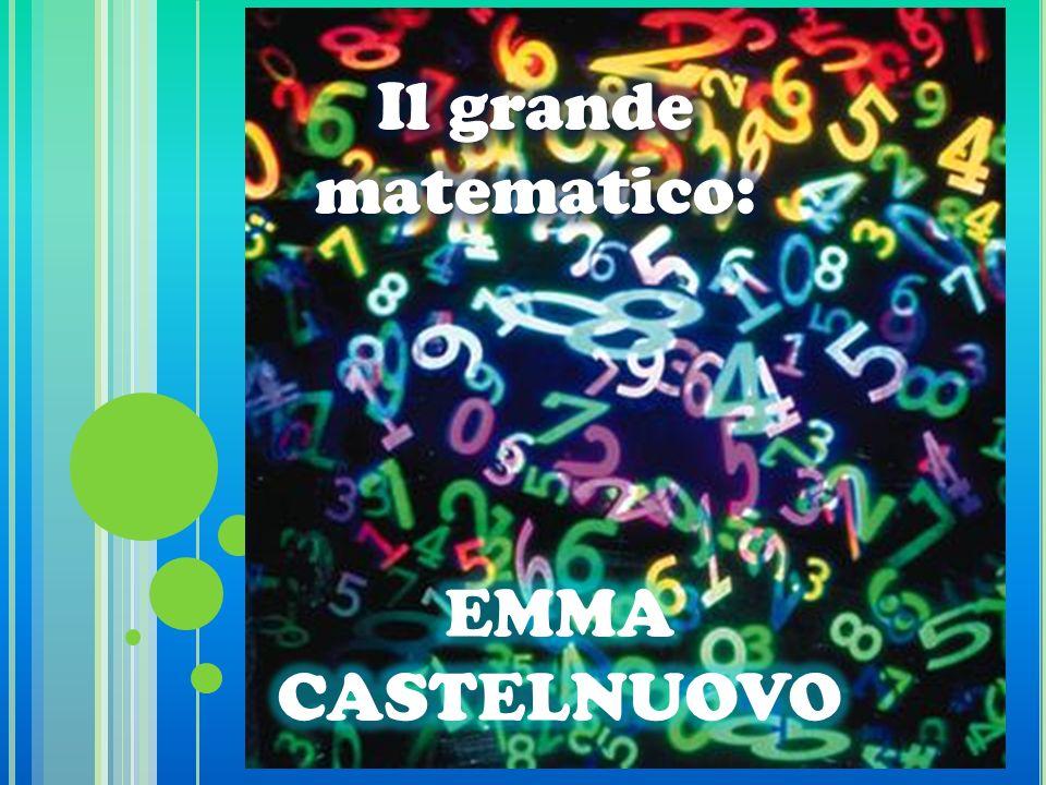 Emma Castelnuovo nasce a Roma nel 1913.