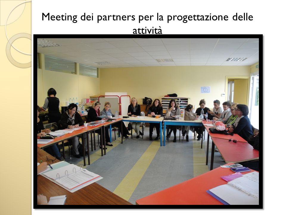Meeting dei partners per la progettazione delle attività