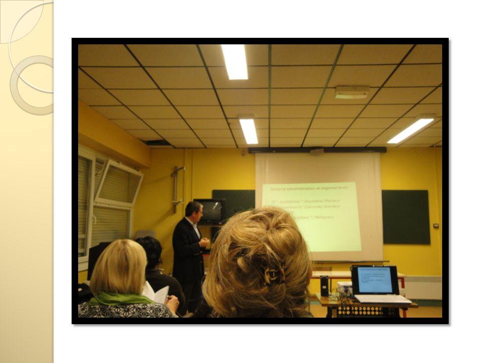 Visita alle classi durante lo svolgimento delle lezioni Classe quinta