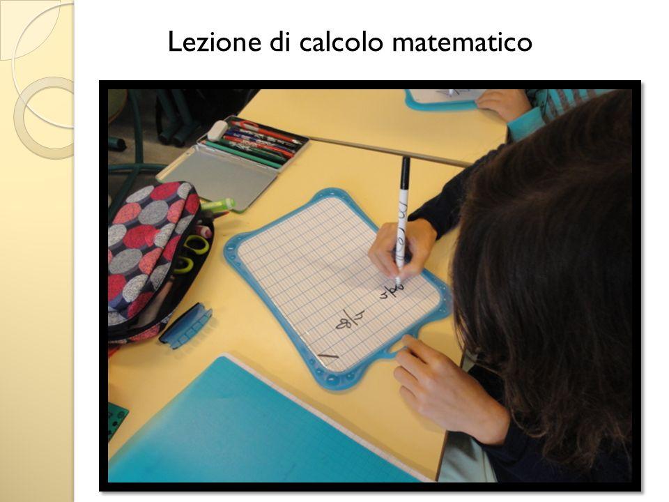 Lezione di calcolo matematico
