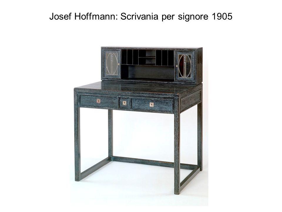 Josef Hoffmann: Scrivania per signore 1905