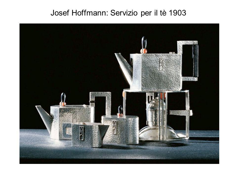 Josef Hoffmann: Servizio per il tè 1903