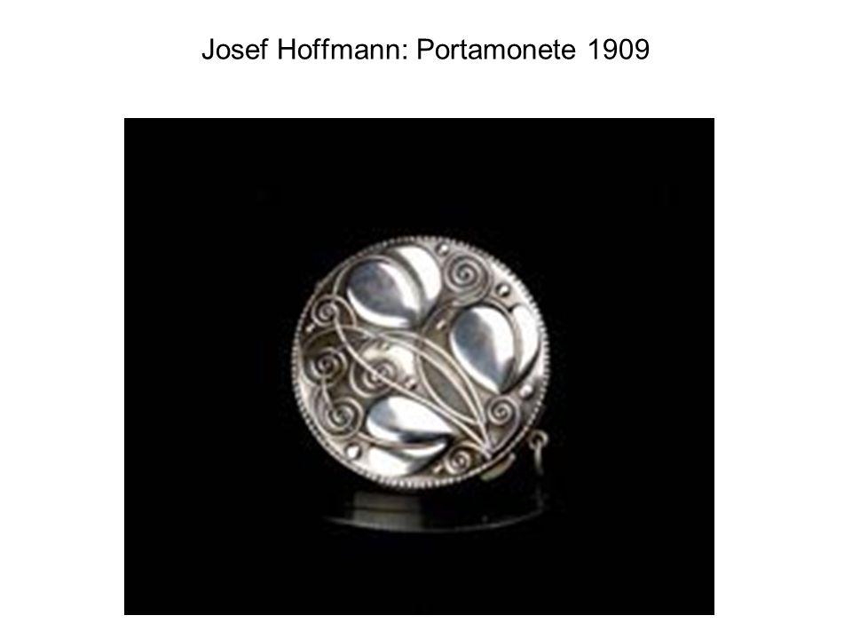 Josef Hoffmann: Portamonete 1909